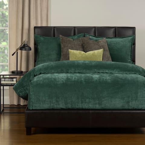 Mixology Padma Velvet 6-piece Bed Cap Comforter Set