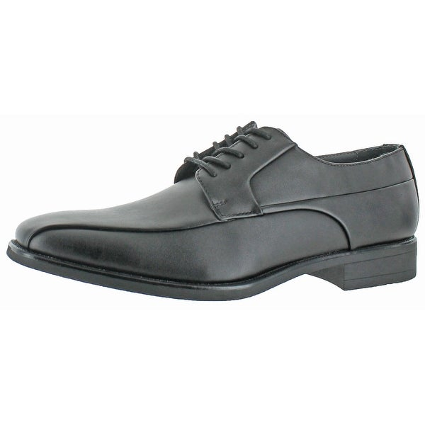 Calvin Klein Men's Edgar Faux Leather Dress Shoes