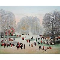 Le Rendezvous, Limited Edition, Lithograph, Michel Delacroix
