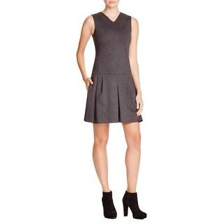 Vince Womens Casual Dress Drop Waist Mini