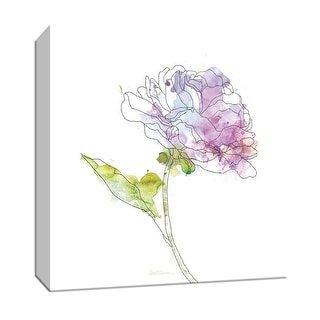 "PTM Images 9-147219  PTM Canvas Collection 12"" x 12"" - ""Simple Study III"" Giclee Flowers Art Print on Canvas"