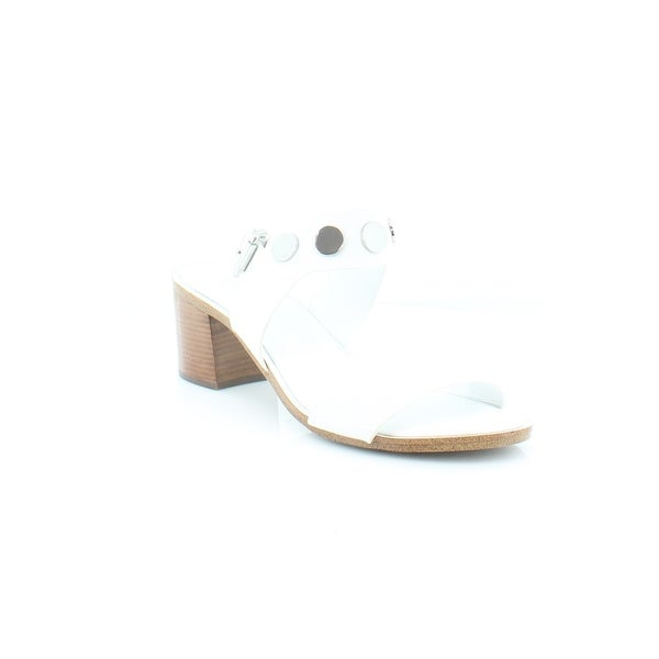 Michael Kors Reggie Mid Sandals Women's Sandals & Flip Flops Optic White - 9