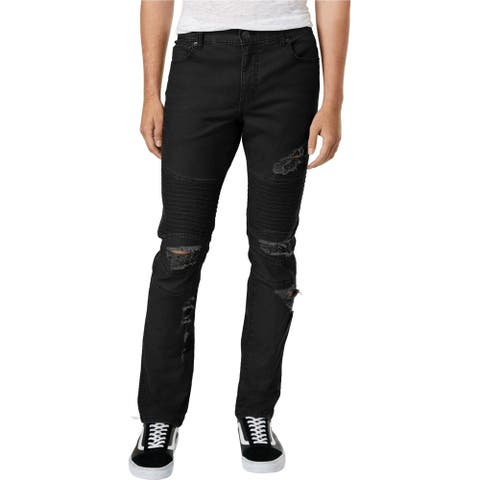 American Rag Mens Distressed Slim Fit Jeans