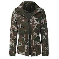 NE PEOPLE Womens Military Anorak Jacket [NEWJ134]