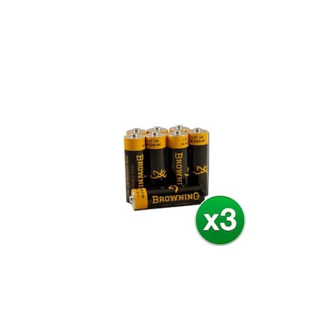 Browning AA Alkaline Batteries (3-Pack) AA batteries