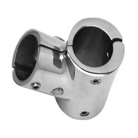 Stainless Steel Separable 60 degree Tee Joint Yacht Marine 22mm