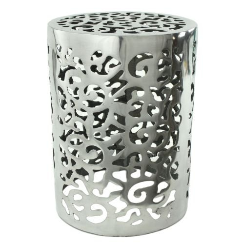 Aspire Home Accents 3826 Kelsey Aluminum Garden Stool