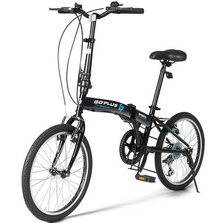 Link to Goplus 20'' 7-Speed Folding Bicycle Bike for Adult Lightweight Iron Similar Items in Cycling Equipment
