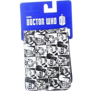 Doctor Who Men's Bi-Fold Wallet: Comic Strip