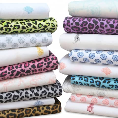 EnvioHome - Hotel Quality, Deep Pockets, Breathable Cotton Sheet Set