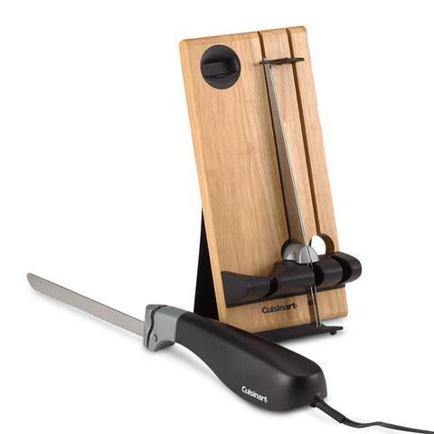 Cuisinart CEK-40 Electric Knife, Black - black & stainless