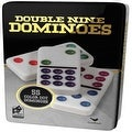 Double 9 Color Dot Dominoes in Collectors Tin (styles will vary) - Thumbnail 0