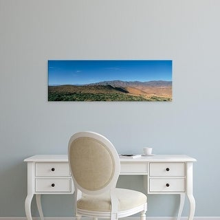 Easy Art Prints Panoramic Images's 'Scenic view of a desert, Morocco' Premium Canvas Art