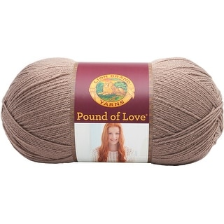 Pound Of Love Baby Yarn-Taupe - taupe