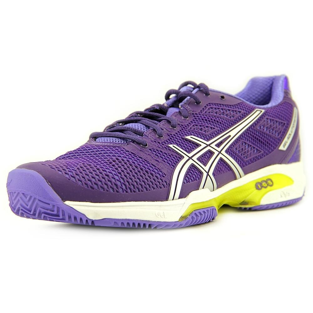 Asics Gel-Solution Speed 2 Clay Women Round Toe Synthetic Purple Running  Shoe