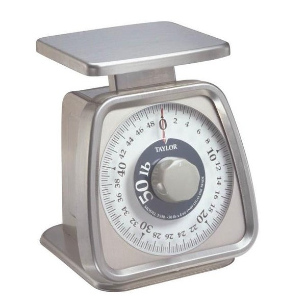 Taylor TS50 Heavy Duty Kitchen Scale, 50 lbs