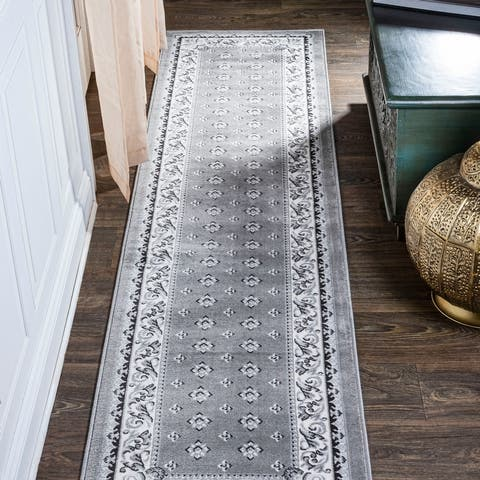 JONATHAN Y Acanthus French Border Area Rug