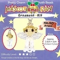 Create Your Own Miyuki Mascot Bead Charm Christmas Ornament Kit - Angel - Thumbnail 0