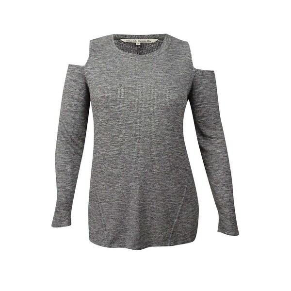 445c74c159a65 Shop RACHEL Rachel Roy Women s Trendy Plus Size Ribbed Cold-Shoulder ...