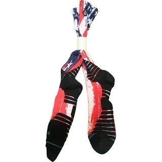 Jarrett Jack Socks Brooklyn Nets 201516 Game Used 2 Red White and Blue Socks