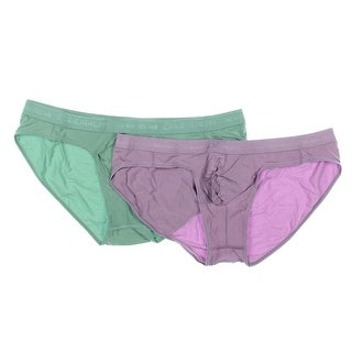 David Archy Mens 4PK Comfortwaist Bikini Underwear - XL