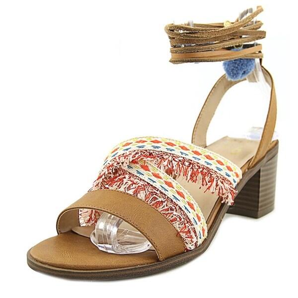 Mix No 6 Lex Women Open Toe Canvas Multi Color Sandals
