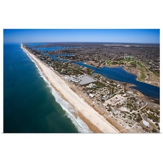 """""""Aerial view of The Hamptons, Long Island, New York"""" Poster Print"""
