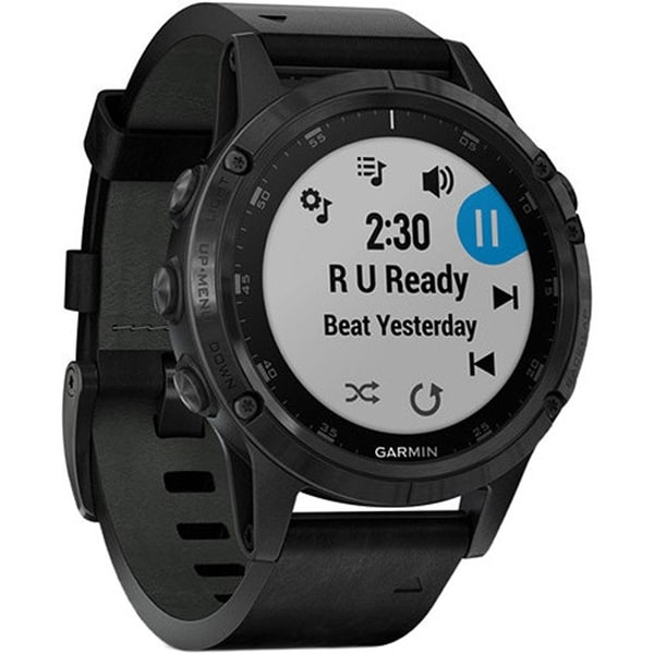 Shop Garmin Fenix 5 Plus Sapphire Edition Multi Sport