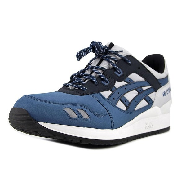 finest selection 44ce8 74ff5 Shop Asics Gel-Lyte III Youth Round Toe Leather Gray Running ...