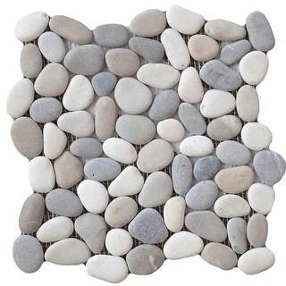 """Emser Tile M18VENE1212MSH Venetian Pebbles - 11-13/16"""" x 11-13/16"""" Pebble Mosaic - N/A"""