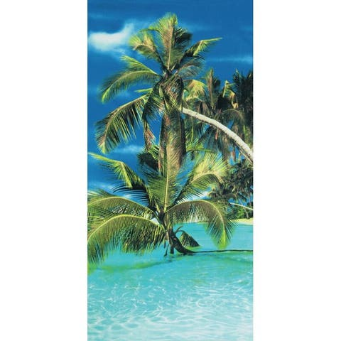 Amazing Paradise 30x60 Brazilian Velour Beach Towel
