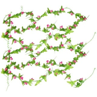 2pcs Wedding Decor Magnolia Bud Artificial Flower Hanging Vine