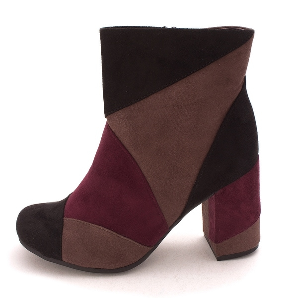 Seven Dials Womens Tanyette Leather Round Toe Mid-Calf Fashion Boots - 5