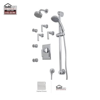 Rohl CAKIT46LM Caswell Shower System with Multi Function Shower Head - Polished Nickel