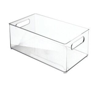 InterDesign 75230 Refrigerator and Freezer Storage Organizer, Clear