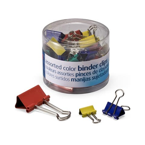 Officemate officemate assorted binder clips 31026