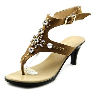 Callisto Womens CHERRY Leather Open Toe Casual Ankle Strap Sandals