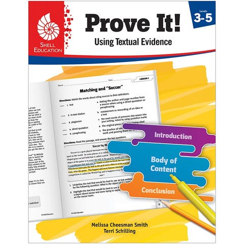 Prove It Using Textual Lev 3-5 Evidence