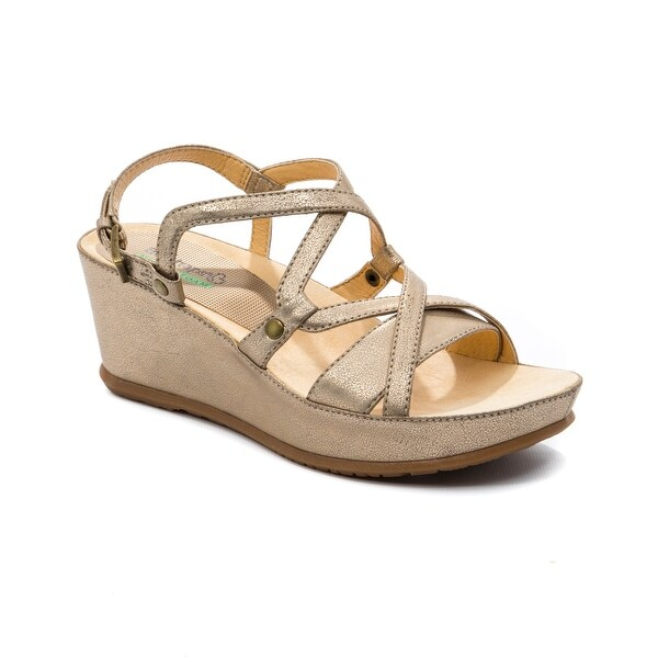 Baretraps Lotti Women's Sandals Soft Gold - 9.5
