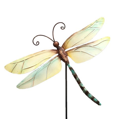 Handmade Pearl Dragonfly Garden Decoration