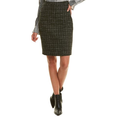 Karl Lagerfeld Tweed Pencil Skirt