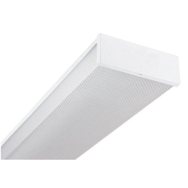 Stylish Modern Fluorescent Kitchen Ceiling Light: Shop Sunset Lighting F9861 Designer's Wrap 2-Light