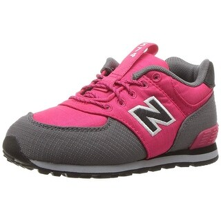 New Balance Baby Girl KL574VDI Buckle Sneakers