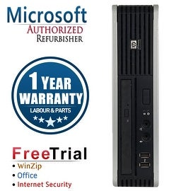 Refurbished HP Compaq DC7800 Ultra Small Form Factor Core 2 Duo E6550 2.33G 2G DDR2 80G WIN 10 Pro 64 WIFI 1 Year Warranty