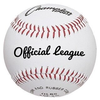 Champion Official League Baseball, Pack of 12