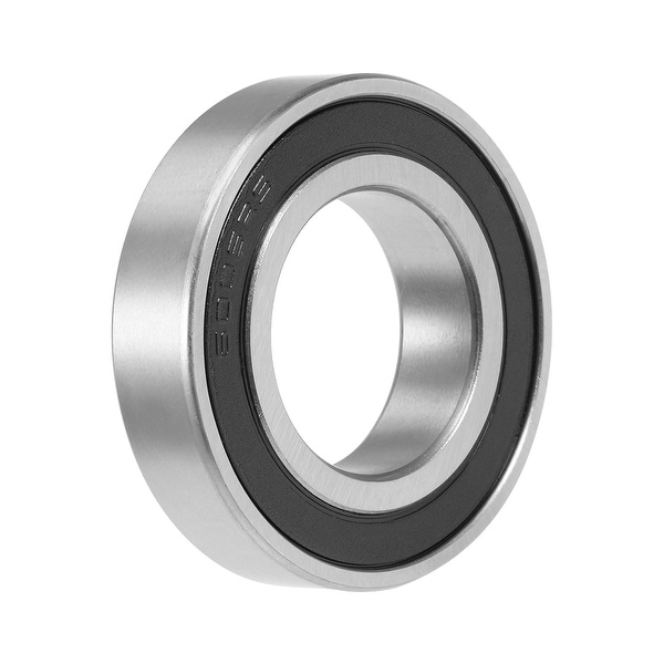 6006-2RS Deep Groove Ball Bearing 30x55x13mm Double Sealed Chrome Steel Bearings - 1 Pack - 6006-2RS (30*55*13)