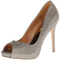 BADGLEY MISCHKA Womens Kassidy II Open Toe Classic Pumps