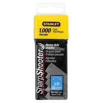 "Stanley TRA706T Heavy Duty Staples 3/8"", 1000/Pack"