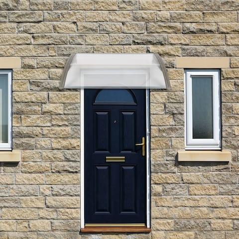 HT 1x1m Household Application Door Canopy Rain Cover Eaves