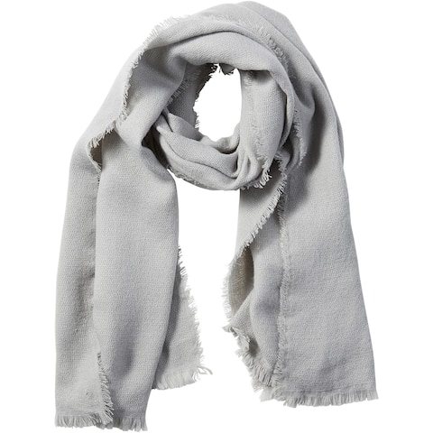 6.5' Solid Gray Stylish and Fashionable Tickled Pink Evelyn Shimmer Scarf